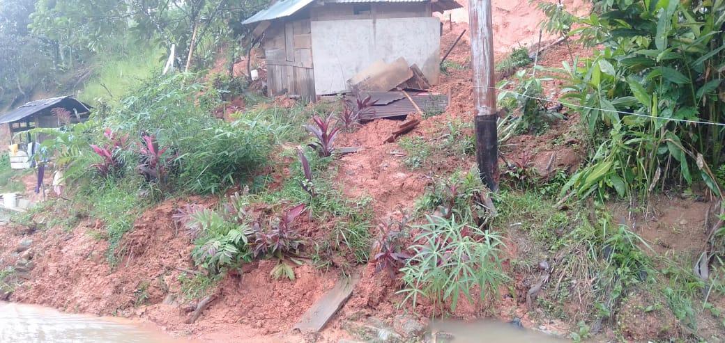 Bencana Longsor dan Banjir kembali mengancam wilayah Kecamatan Hiliran Gumanti di beberapa titik